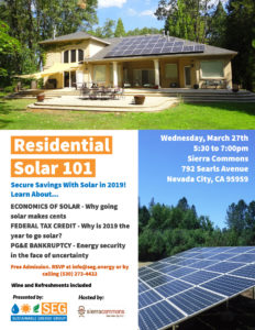 solar for your home grass valley