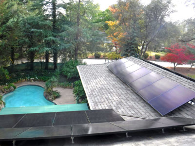 Roof Top Residential Install - Penn Valley, CA