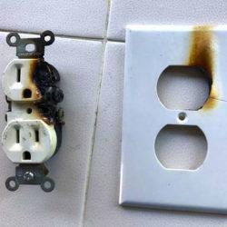 Dangerous Electrical Panel Warning