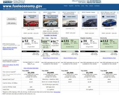 electric hybrid fuel efficiency california nevada county , ca grass valley