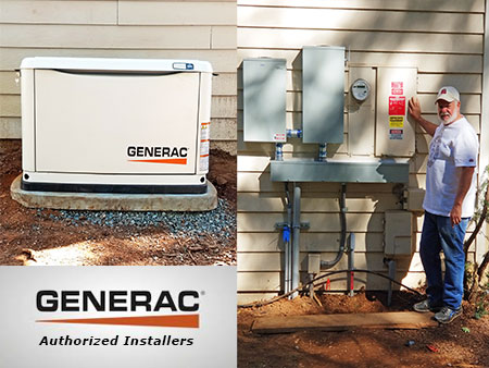generator generac authorized installer in grass valley, ca