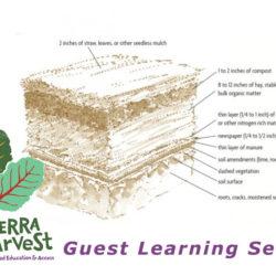 Permaculture Sheet Mulching Sierra Harvest