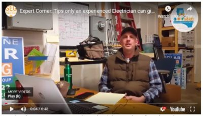keith scott electrician sustainable energy group generator installation contractor