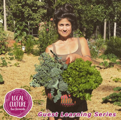 Cristina Africano from Local Culture Live Foods Marketplace Grass Valley, CA Sustainable Living