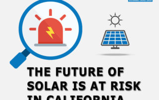 Penn Martin future of solar is at risk california nem 3.0
