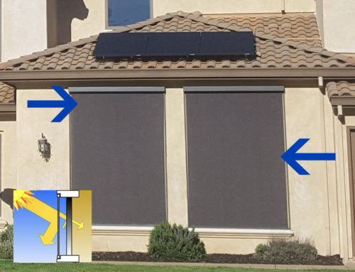 To Screen or Not to Screen? A case study on home solar screens