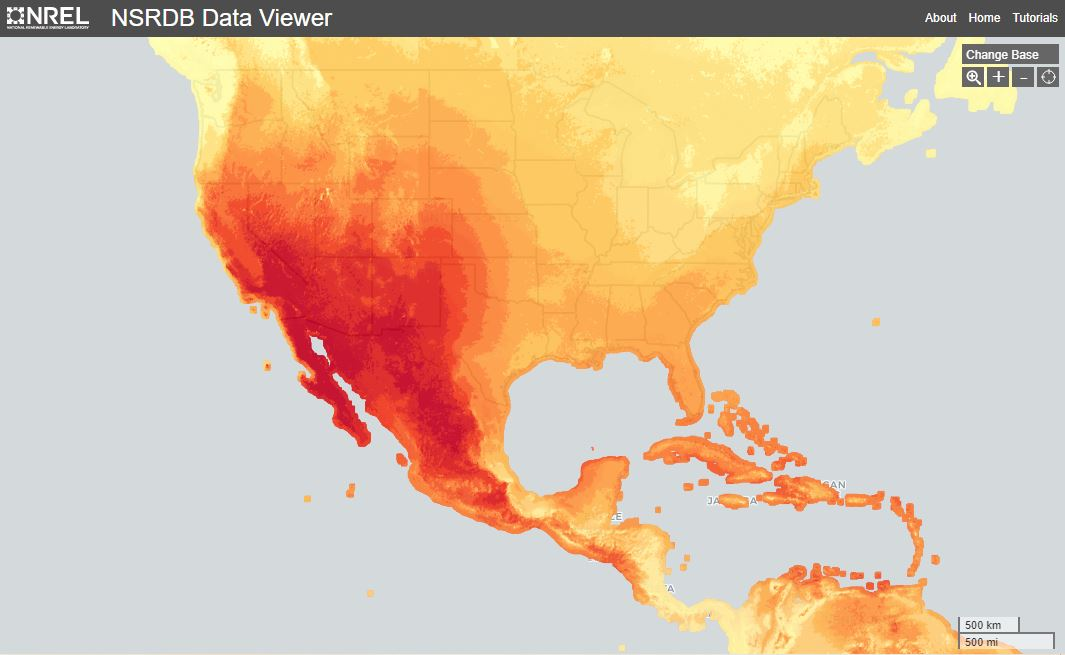 solar irradiance in grass valley, nevada city and nevada county california
