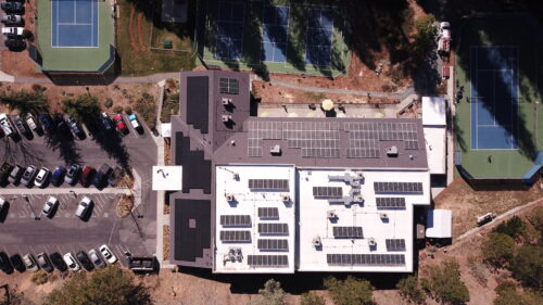 large commercial solar project in nevada county, ca grass valley solar south yuba club