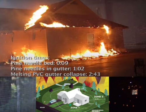 The biggest reason a home burns in a wildfire