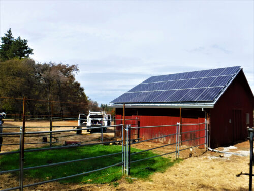 solar in rough and ready california