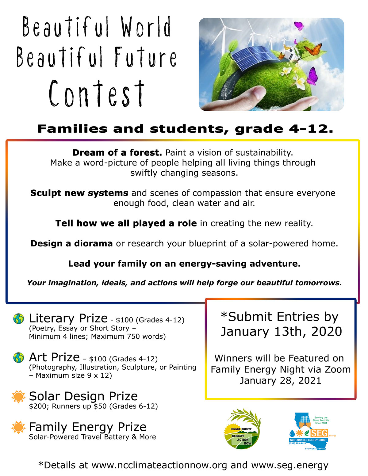 solar contest nevada city california grass valley solar contest