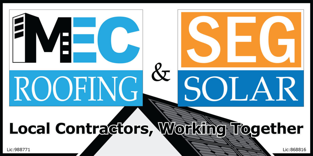 mec roofing and seg solar sustainable energy group