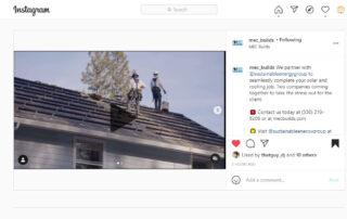 mec roofing seg solar grass valley