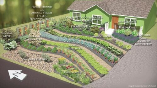 permaculture sierra foothills, california