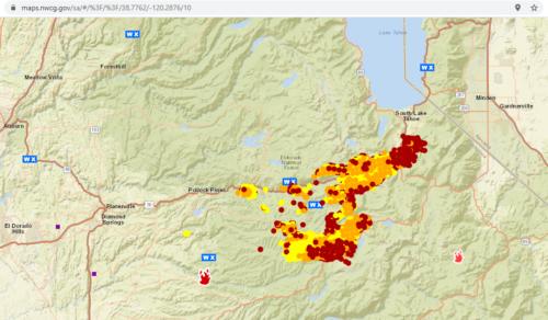 nwcg fire map