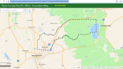 placer county fire evacuations